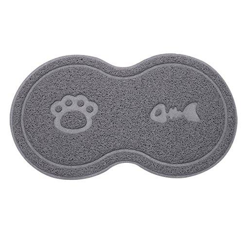 SunAter Futternapf-Matte, PVC, für Hunde, Katzen und Haustiere