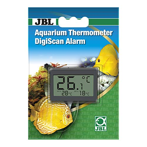 JBL 6122100 DigiScan Alarm Aquarium-Thermometer, Grau