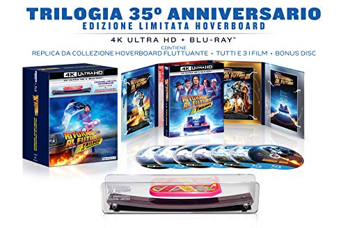 Zurück in die Zukunft - 35th Anniversary Limited Edition Trilogy (4K Ultra HD + Blu ray + Bonus Disc) - Limitierte Hoverboard Edition
