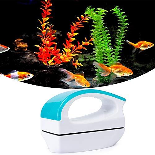 Beslands Aquarium Reiniger Glasreiniger Fisch Tank Glass Magnet Bürste&Algenschaber Scheibenreiniger für Aquarium