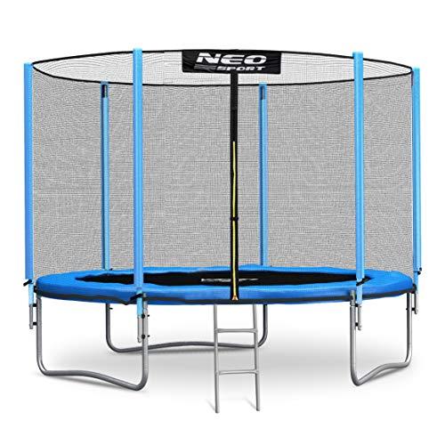 Neo-Sport Trampolin 244 cm 8 ft mit Sicherheitsnetz Außennetz Gartentrampolin