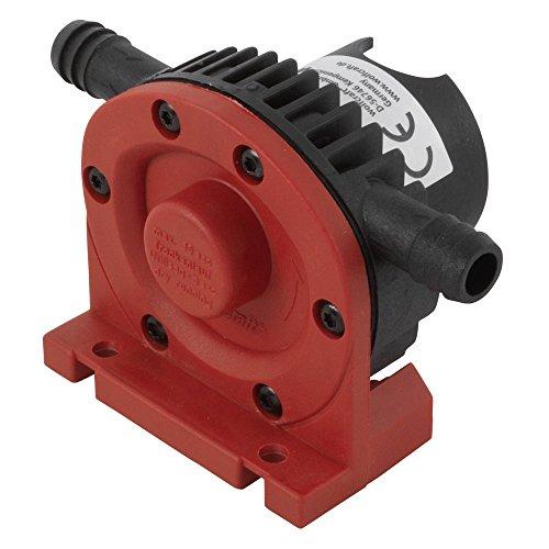 Wolfcraft Bohrmaschinen Pumpe mit Kunststoffgehäuse 2202000 / Selbstansaugende Wasserpumpe mit leistungsstarken 1300 l/h - ideal für Wasserbett oder Pool