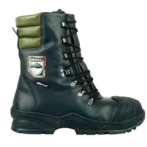 Cofra Forstarbeiter Schnittschutz-Stiefel Power, Sägeschutz Klasse 2, Größe 44, schwarz, 21500-000