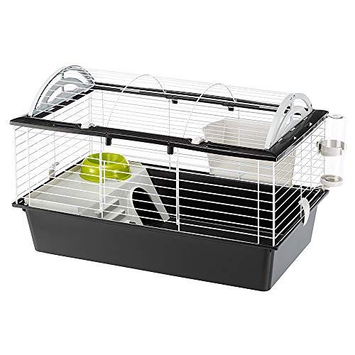 Ferplast 57065070 Heim für Kaninchen, Meerschweinchen und andere Kleintiere, Maße: 78 x 48 x H 50 cm (M)