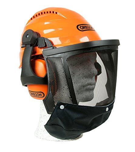 Kopfschutz / Schutzhelmkombination Waipoua , stoß- und kratzfester ABS – Helm, erweiterter Gesichtsschutz und optimale Geräuschdämpfung, waschbares Schweißband , SNR-Wert: 27 dB