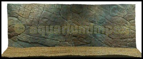 3D Aquarium Rückwand 150x60 Aquariumrückwand Dünn