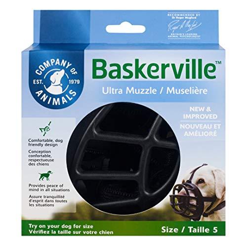 Baskerville Ultra Muzzle,Schwarz,Größe5