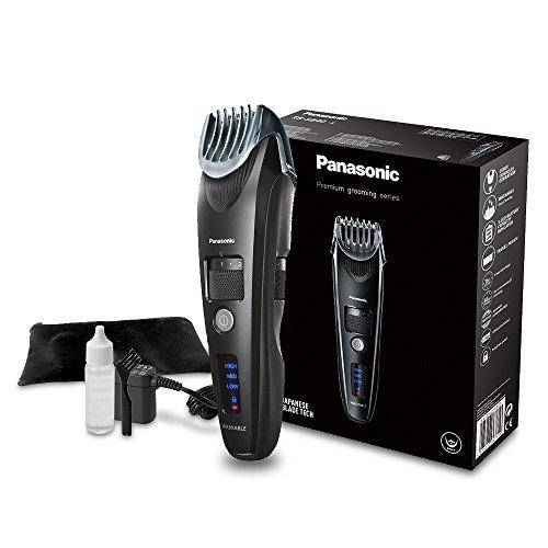 Panasonic Premium Bartschneider ER-SB40 mit 19 Längeneinstellungen, Barttrimmer 0,5-10 mm, Trimmer für Herren, Linearmotor