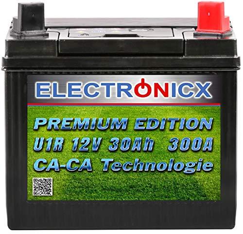 U1R 30Ah 300A Green Power Batterie Rasentraktor Aufsitzrasenmäher Gartengeräte Motorrad Starterbatterie 12V