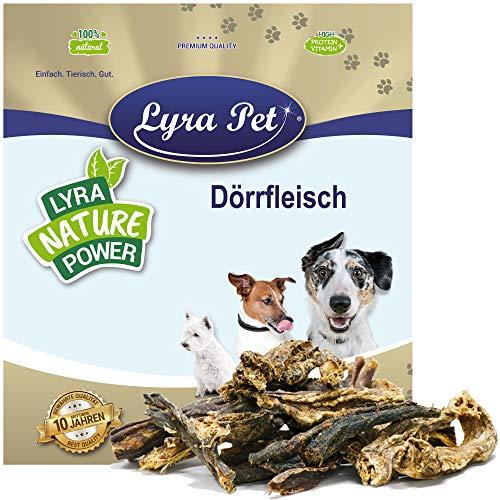 Lyra Pet® 5 kg Rinderdörrfleisch 5000 g Dörrfleisch Rind Kauartikel Snack Hund