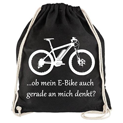 Nukular Turnbeutel Fahrrad Denkt. für Pedelec & Ebike MTB Fans