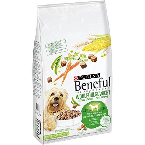 Purina Beneful Hundetrockenfutter Wohlfühlgewicht (mit Huhn, Gartengemüse und Vitaminen) 12kg Sack
