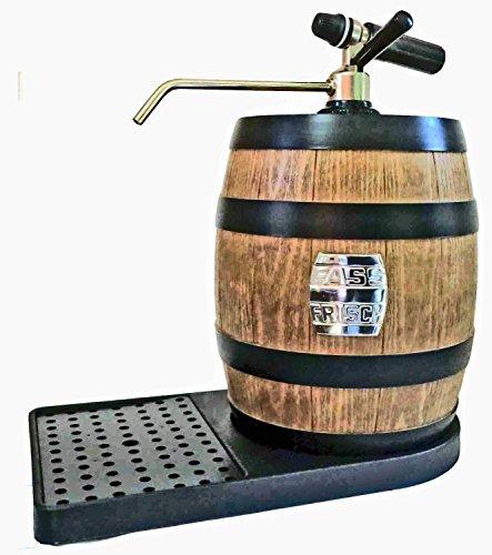 Tischzapfanlage De Luxe mit Co2-Zapfgerät für 5 L Partyfässer