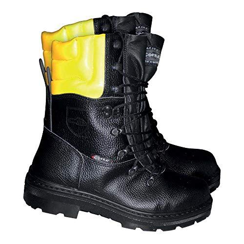Cofra Schnittschutzstiefel Holzarbeiter BIS Forstwirtschaft, 44, schwarz, 25580-000