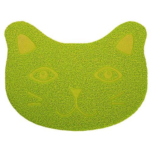 "ANBET Nette Katze PVC Futternapf Pad rutschfeste Futtermatte für Hund Katze Welpen Kitty (11,8 × 15,7 "")"