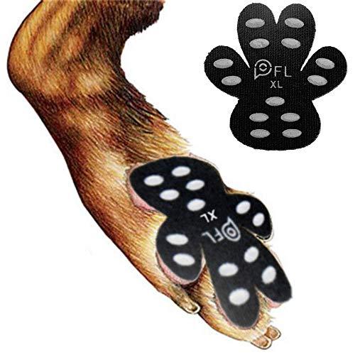 Hundepfotenschutz, Anti-Rutsch-Pads mit Griffen, 24 Stück, selbstklebende Einweg-Hundeschuhe für Hartholzboden, Innenkleidung