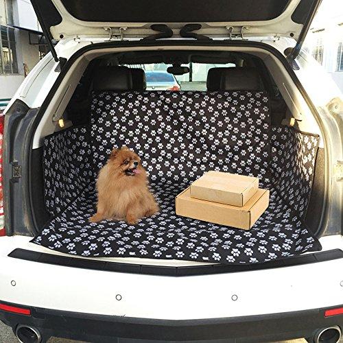 Hunde-Autoschondecke für den Kofferraum, Rücksitze, Hängematte, Haustier, SUV, Kofferraum, Schutzmatte, Katze, wasserdicht, rutschfest für Hunde und Katzen