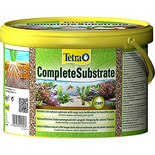 Tetra Complete Substrate - nährstoffreicher Bodengrund mit Langzeit-Dünger für gesunde Pflanzen, zur Neueinrichtung des Aquariums (Substratschicht unter dem Kies), 5 kg Eimer