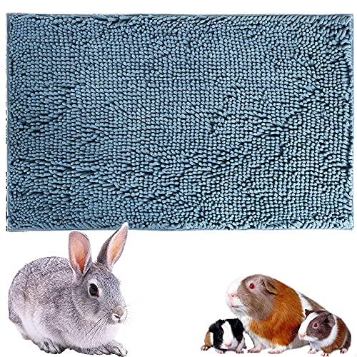 Oncpcare Waschbare Haustiermatte für Kaninchen, wiederverwendbare Meerschweinchen, Trainingspolster für Kleintiere, Schlafmatte für Kaninchen, Fleece-Einlagen für Chinchilla-Käfig