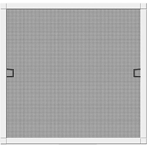 Schellenberg 70032 Insektenschutz-Fenster Plus Fliegengitter Fenster mit Rahmen - 130 x 150 cm