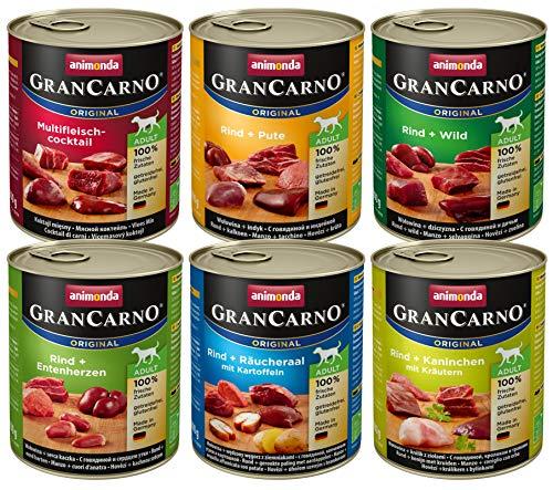 animonda GranCarno Hundefutter, Nassfutter für erwachsene Hunde, verschiedene Sorten