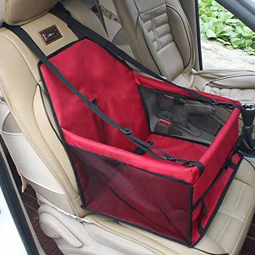 Buwico wasserdicht atmungsaktiv Auto-Hundesitz kleine Hunde Autositz wasserfest sicherer Träger Tragetasche für Hunde Katze Haustier